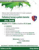 a1b9bf5d6 Pozvánka na futbalový turnaj o pohár starostu obce Jarok